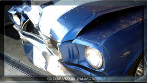 1965 classic mustang collision repair paint video