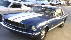 1965 Classic Mustang collision repair and paint video