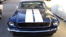 classic ford mustang 1965 collision paint repair video