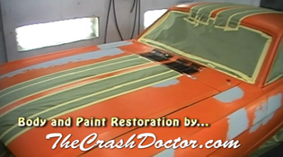 classic mustang before paint job from www.thecrashdoctor.com