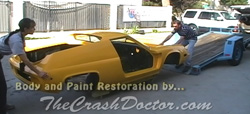1971 all electric lotus custom paint and body work from www.thecrashdoctor.com