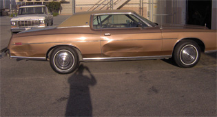 1973 Ford LTD classic before auto body unlimited inc collision repair paint job from www.thecrashdoctor.com