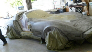 corvette restoration photo from www.thecrashdoctor.com simi valley serving moorpark, ca and other southern california cities