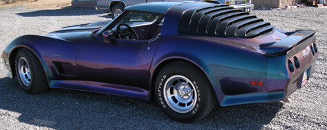 custom corvette paint and body experts www.thecrashdoctor.com