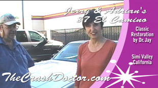 simi valley's best auto restoration and paint shop el camino restoration video photo from www.thecrashdoctor.com