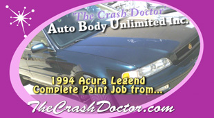 complete paint job for 94 acura legend photo from www.thecrashdoctor.com