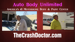 2002 Alfa motorhome fiberglass repair video