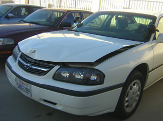 2002 chevrolet impala cosmetic affordable repair from thecrashdoctor.com