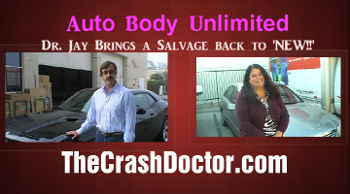 2003 mercedes benz insurance salvage job repaired to like new condition agaio by the west coasts hottest body shop www.thecrashdoctor.com graphic