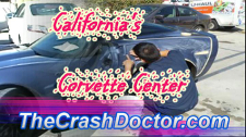 2011 ZR1 Corvette Repair Refinish carbon fiber video from www.thecrashdoctor.com photo
