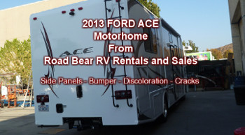 2013 ace motorhome rear after repairs and paint from http://www.thecrashdoctor.com photo