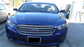 2013 ford taurus corporate fleet body repair and paint from www.thecrashdoctor.com photo video