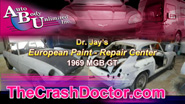 69 MG European restoration paint job video from www.thecrashdoctor.com