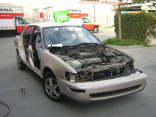 collision and frame repair work from simi valley's best auto body shop www.thecrashdoctor.com