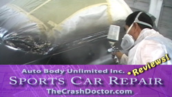 350z repair photo from www.thecrashdoctor.com