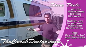 rv recreational vehicle paint restoration