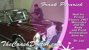 67 mercedes benz restoration and paint job by the crash doctor www.autobodyunlimitedinc.com photo