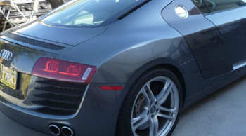 audi r8 $115000 sports car paint refinish by www.thecrashdoctor.com photo