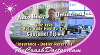 auto dealer insurance body shop referring from www.thecrashdoctor.com