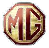 MG logo for european sports car MGB GT from www.thecrashdoctor.com