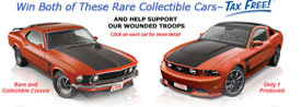 Mustang contest charity give a way program from www.thecrashdoctor.com