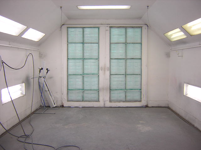 downdraft paint booth thecrashdoctor.com image