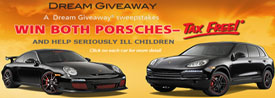 porsche give a way contest from www.thecrashdoctor.com