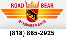 Road Bear RV motorhome rentals and sales agoura hills, ca referred by www.thecrashdoctor.com
