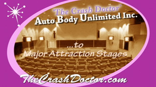 Major California Stage Attraction Art and Museum Restoration and Paint job video from www.thecrashdoctor.com
