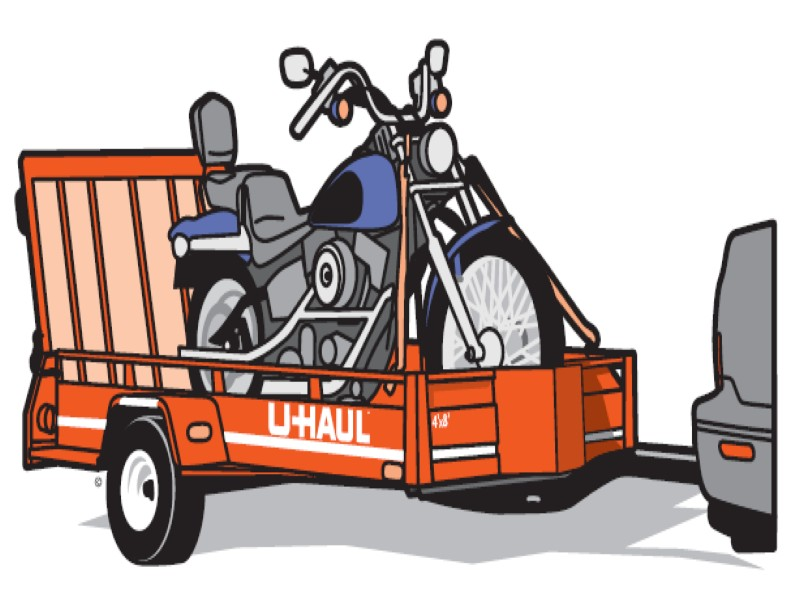 uhaul motorcycle trailer rentals from www.thecrashdoctor.com