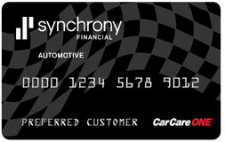 Car Care Financing Credit Plan card from www.thecrashdoctor.com