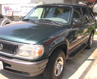 1997 Mercury Mountaineer for sale at good price from www.autobodyunlimitedinc.com