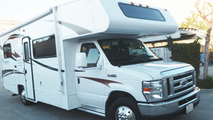 Corporate Fleet RV Rental commercial companies repair and paint service center www.thecrashdoctor.com photo