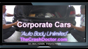 corporate cars fleet damage auto body repair and paint center of southern california serving all major Fleet and Insurance companies www.thecrashdoctor.com photo